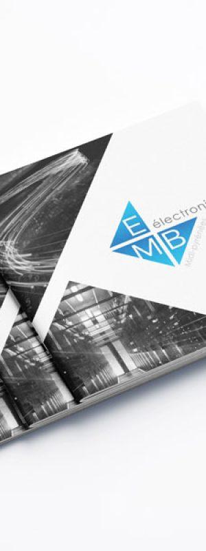 Couvertures plaquettes commerciales EMB électronique